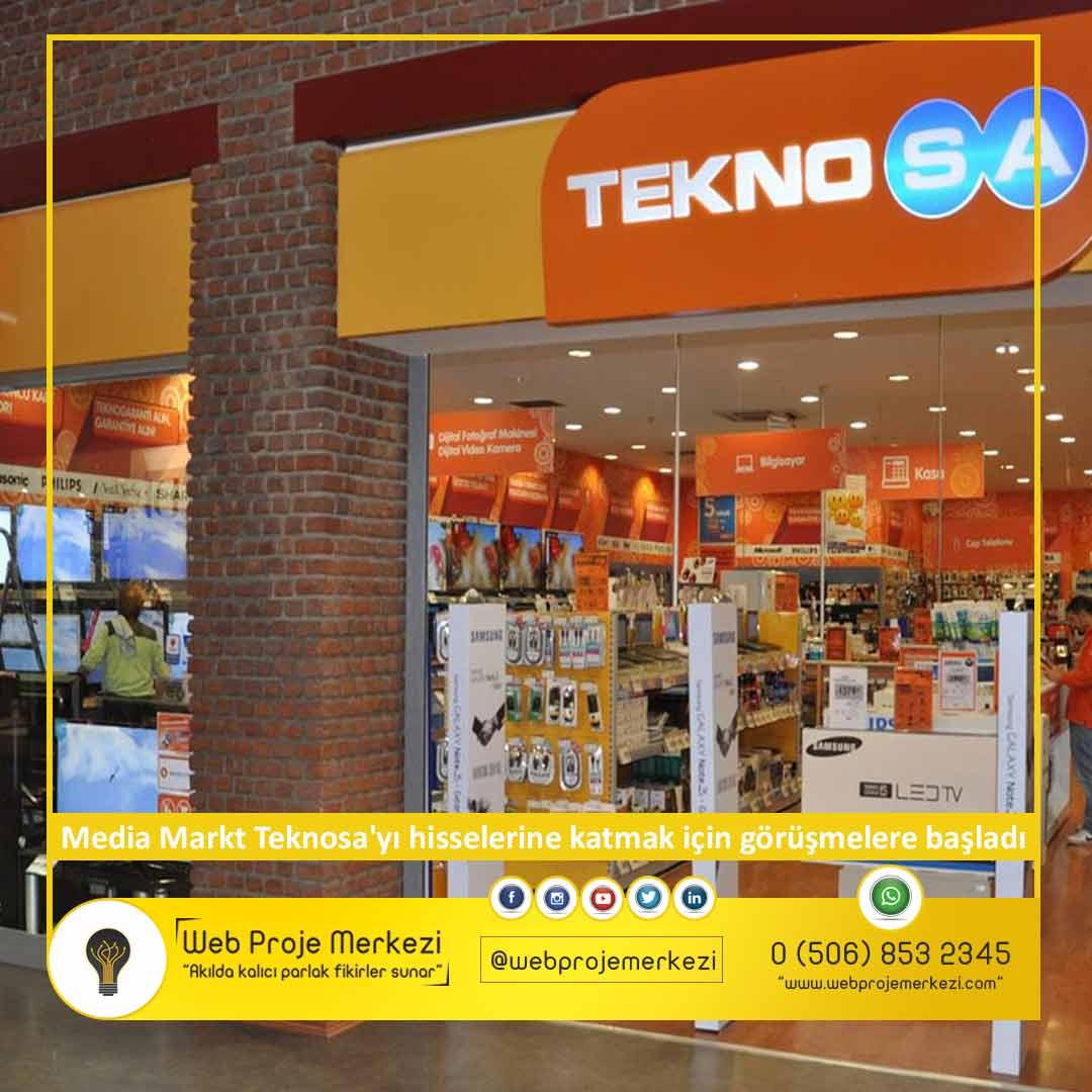 mağaza, media markt, teknosa, sabancı holding, - teknosa satiliyor - Media Markt Teknosa'yı hisselerine katmak için görüşmelere başladı