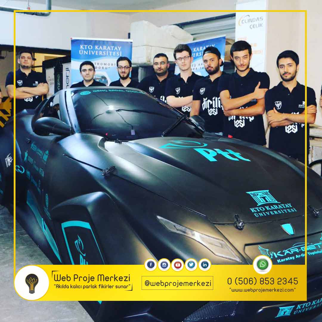 - kto   ni elektrikli ara   - PTT Sponsorlu KTO Karatay Üniversitesi'nden Yerli Elektrikli Otomobil