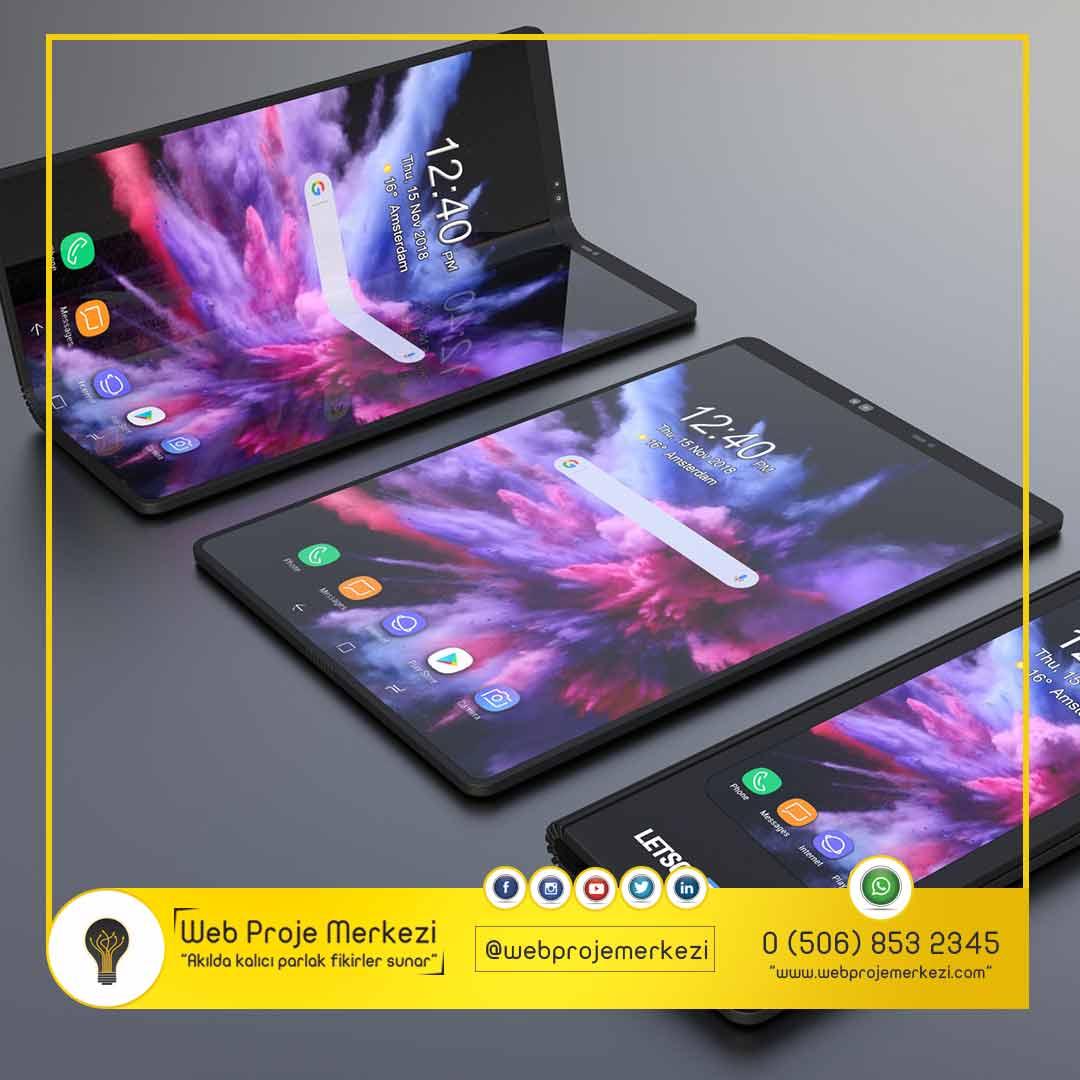 - Samsung Galaxy F 1 - Samsung'un Katlanabilir Telefonu İçin En Olası Tasarımı